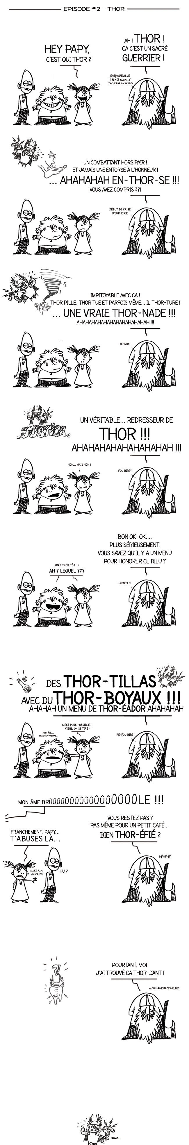 Papy Viking la BD - InTHORduction