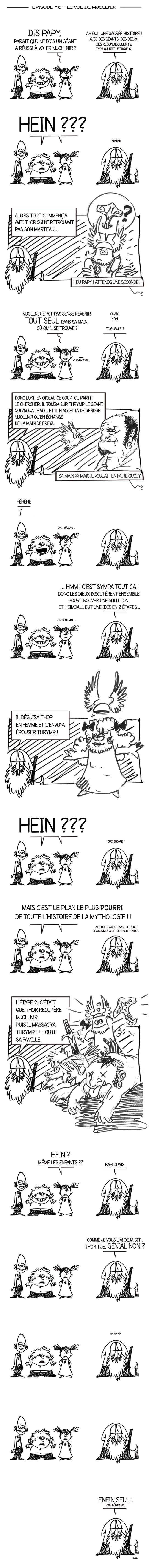 Papy Viking la BD #6