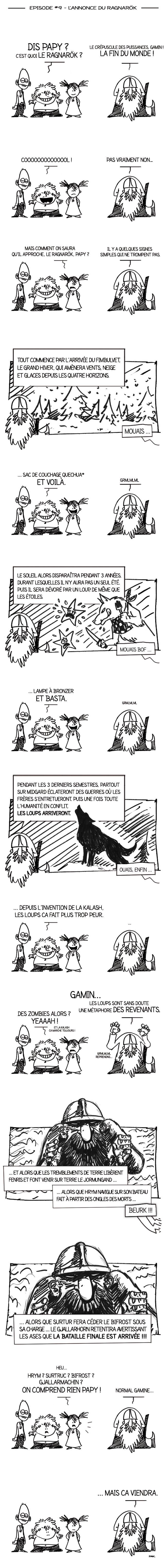 Papy Viking #9 - L'Annonce du Ragnarök