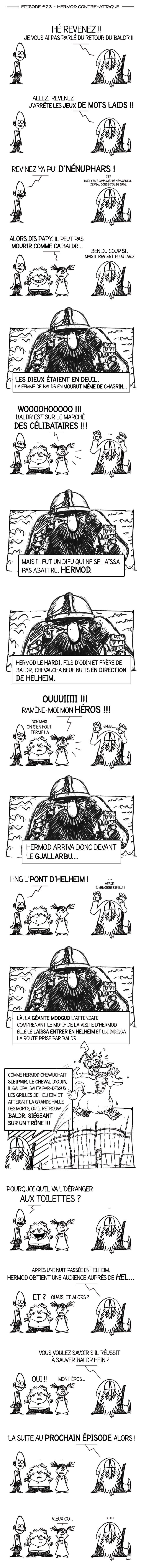 Papy Viking 23 - Hermod contre-attaque