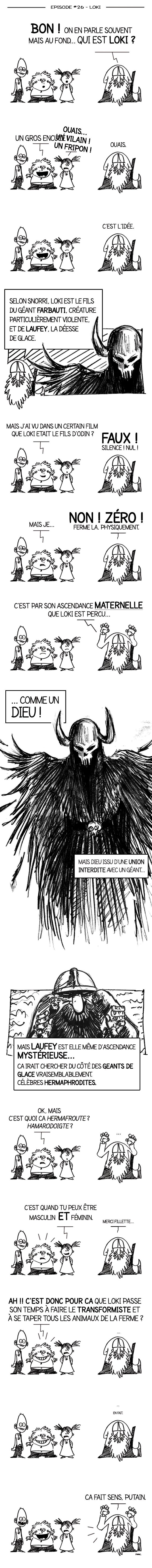 Tout sur les origines du dieu Viking Loki !